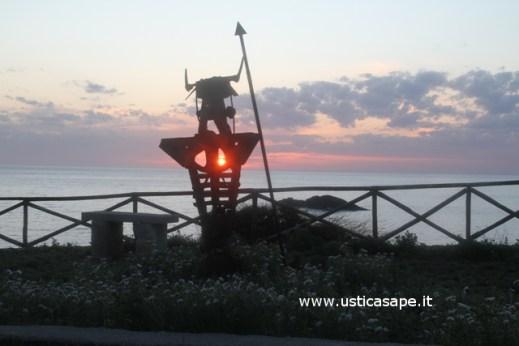 Guerriero al tramonto