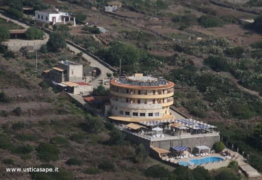 Hotel Diana visto dall'alto