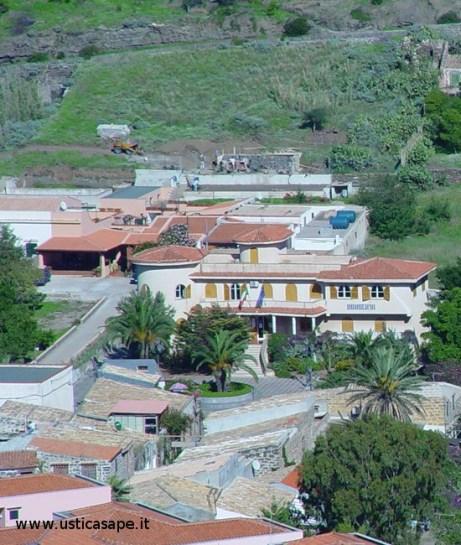 Ustica, zona municipio