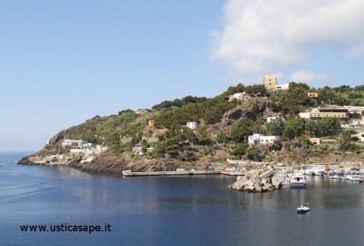 Ustica, Molo Cala Santa Maria e grotta azzurra