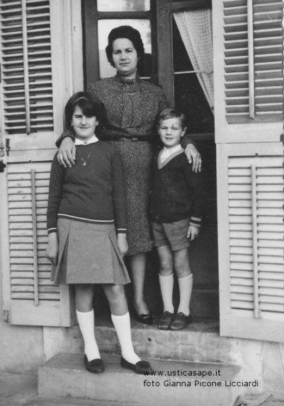 Maria Bertucci e figli