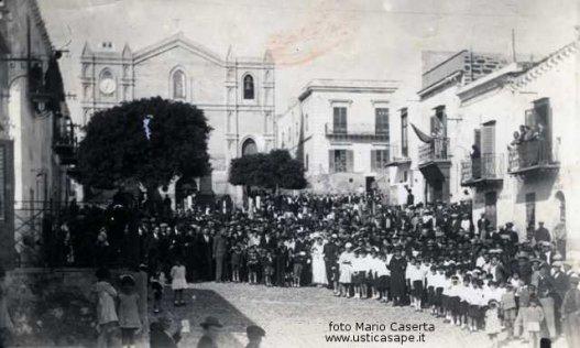 Festeggiamenti di tre matrimoni stesso giorno 1934