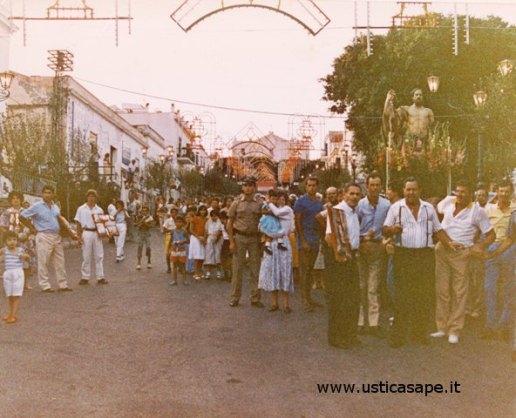 Processione san Bartolomeo - 1972