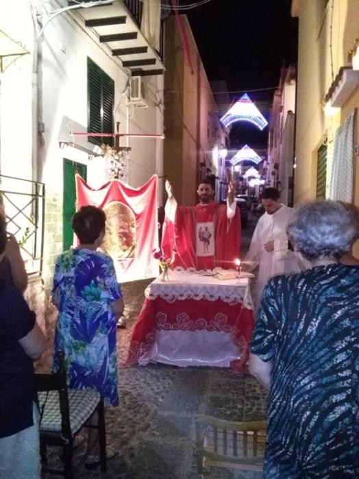 celebrazione Santa Messa in Via San Bartolomeo