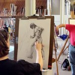 life drawing art school