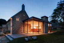 Modern Farmhouse Exterior Stone