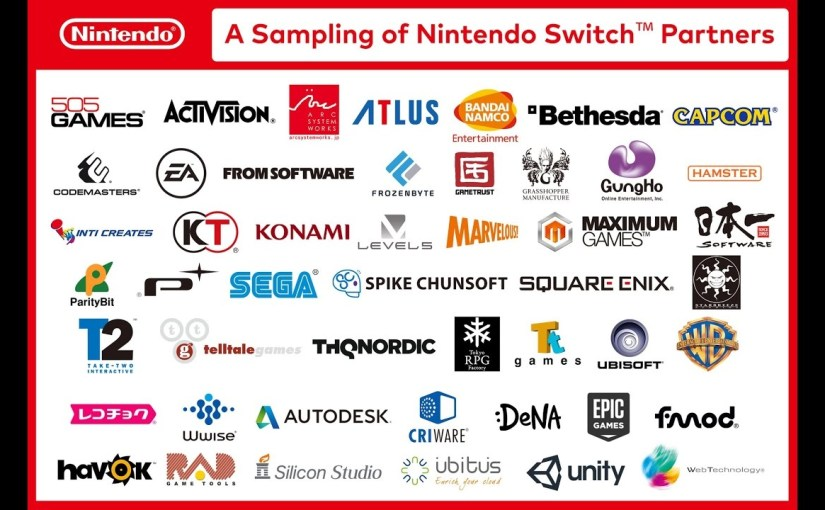 Nintendo Switch Launch Lineup