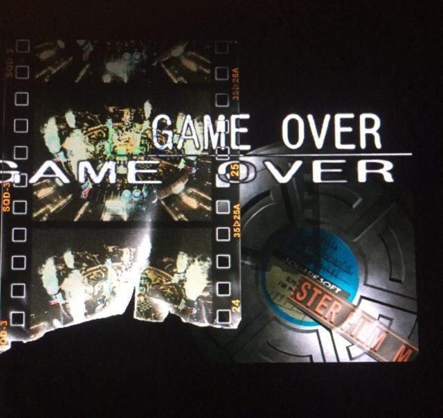 Game Over Screen - Final Fantasy 7 disc 2
