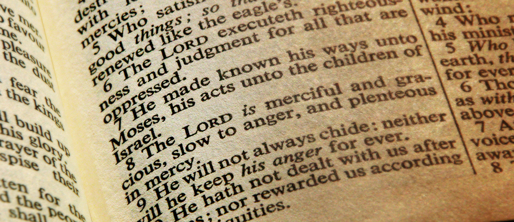 in loving memory bible