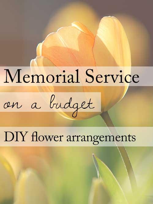 Make Your Own Funeral Flower Arrangements