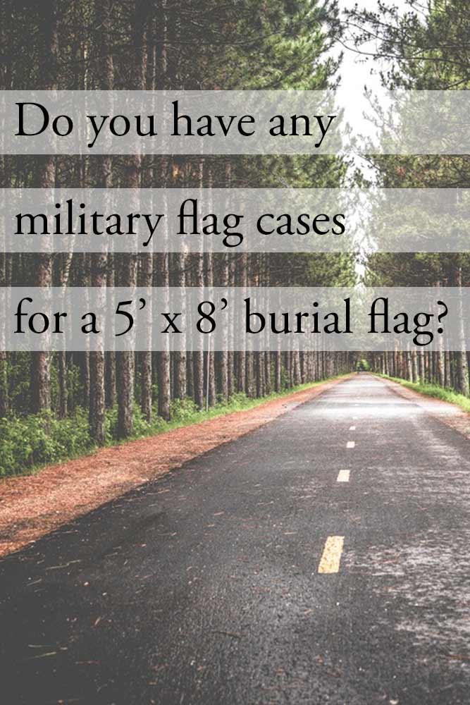 5×8 Flag Case