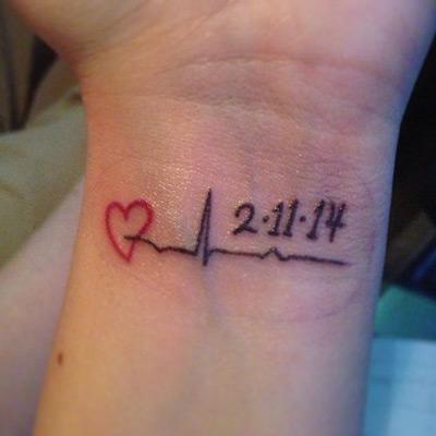 20 Memorial Heart Tattoos Human Ideas And Designs