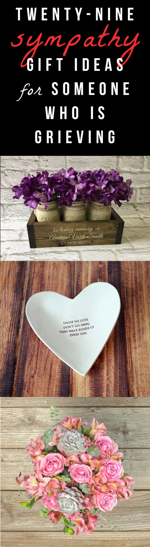 29 sympathy gifts for