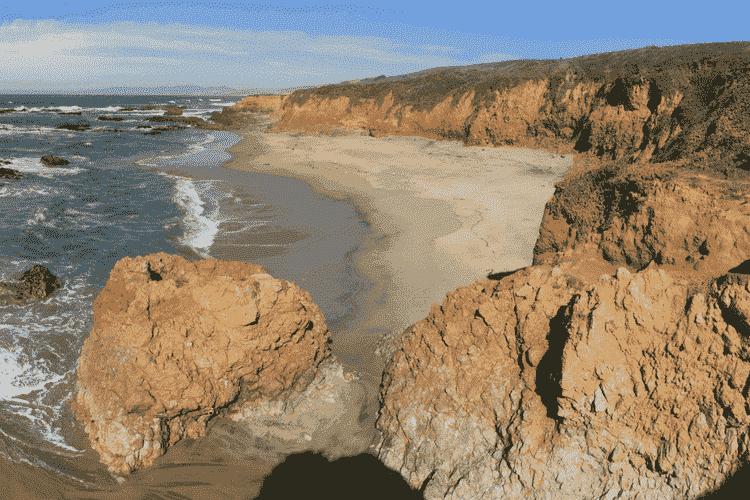 Pescadero State Beach in USA