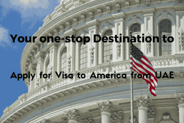 Apply for America Visa from UAE