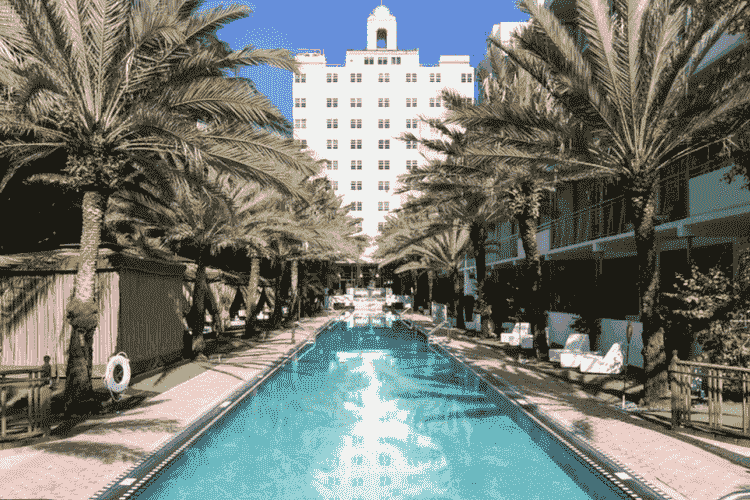 The National Hotel in South Beach
