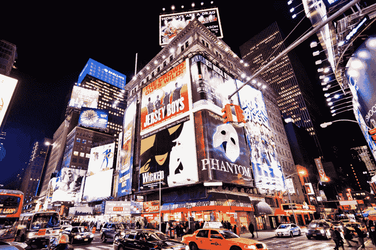 Broadway & Times Square