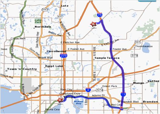 The University of Tampa  Emergency Plan  Evacuation Maps