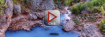 Fifth Water Hot Springs, Utah - 360 degree panorama