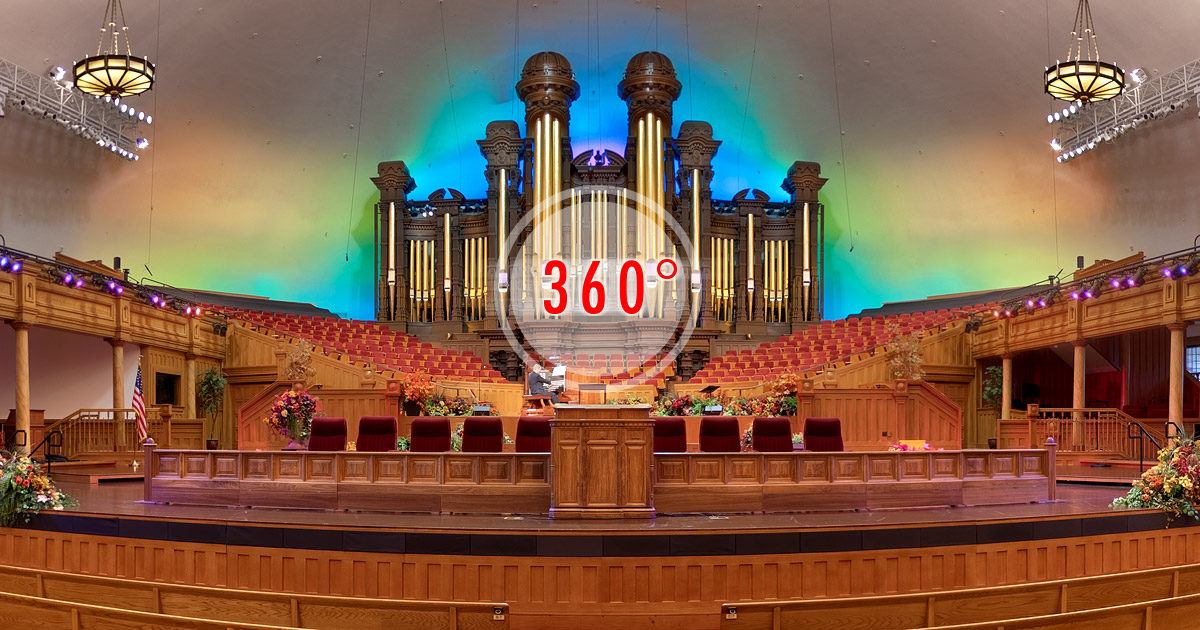 Tabernacle on Temple Square3D Panorama