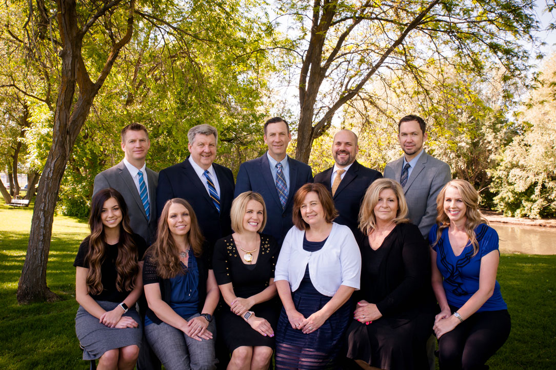 Layton, Utah attorneys and staff at Helgesen, Houtz & Jones