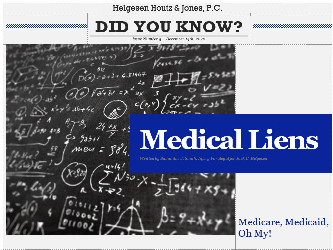 medicare and medicaid liens