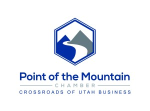 Point of the Mountain Chamber Logo_Stacked