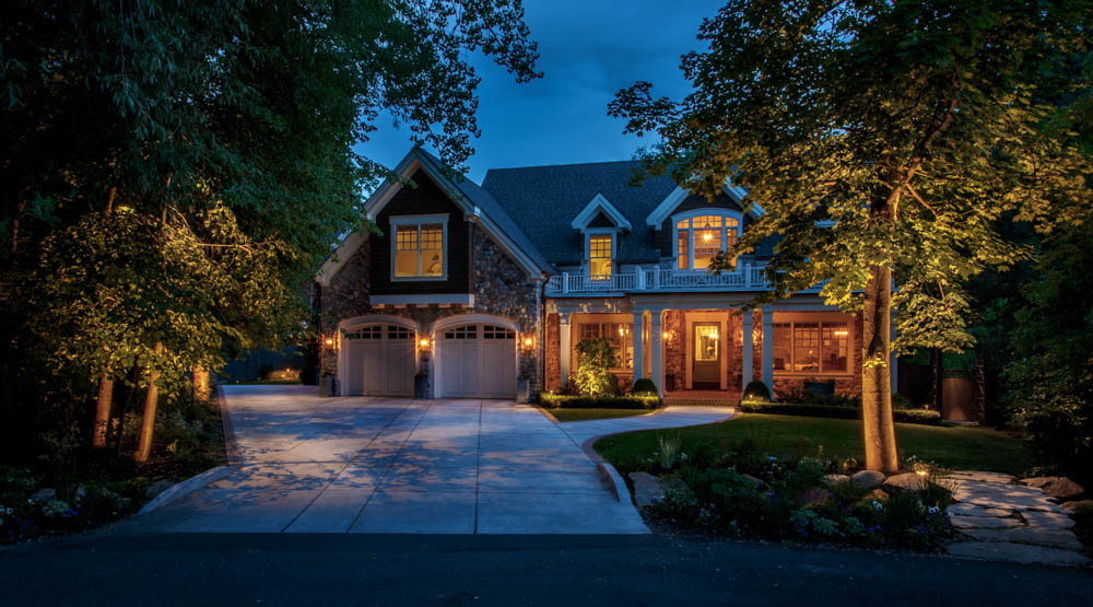the alternative to exterior soffit lighting