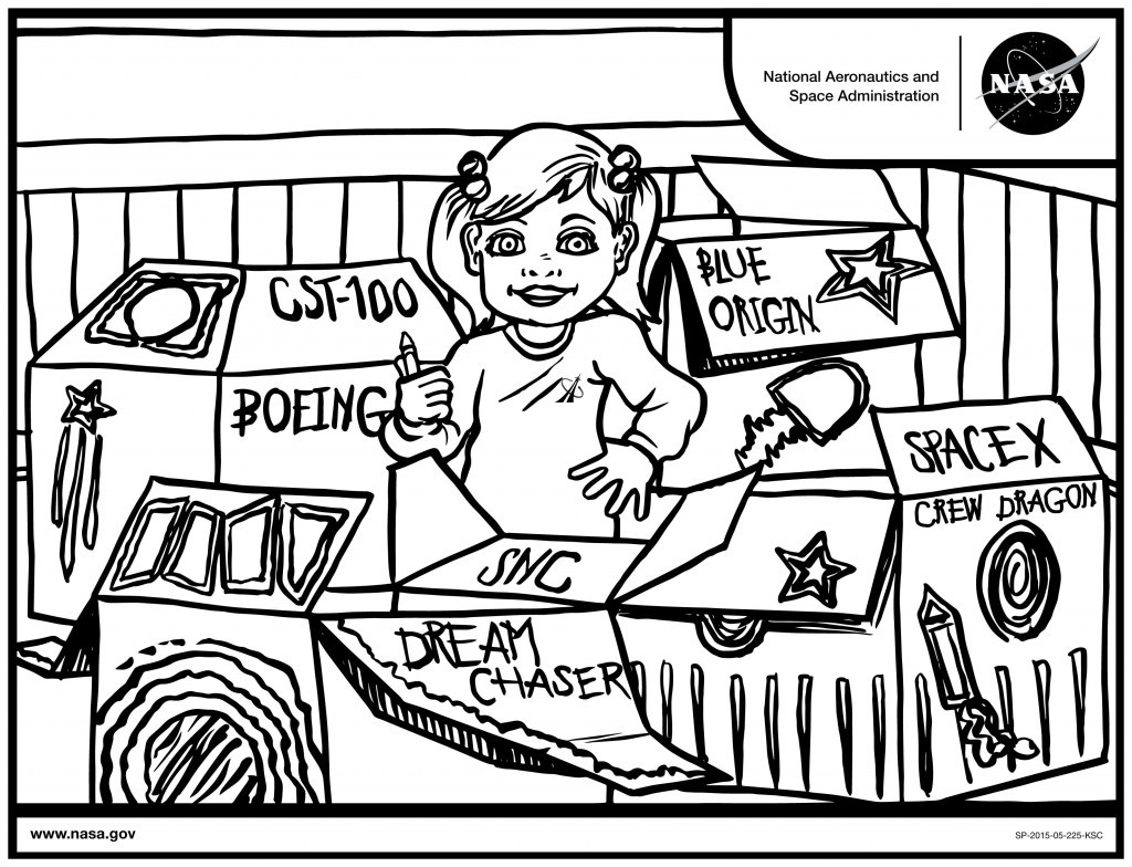NASA Launches New Coloring Contest for Children • Utah