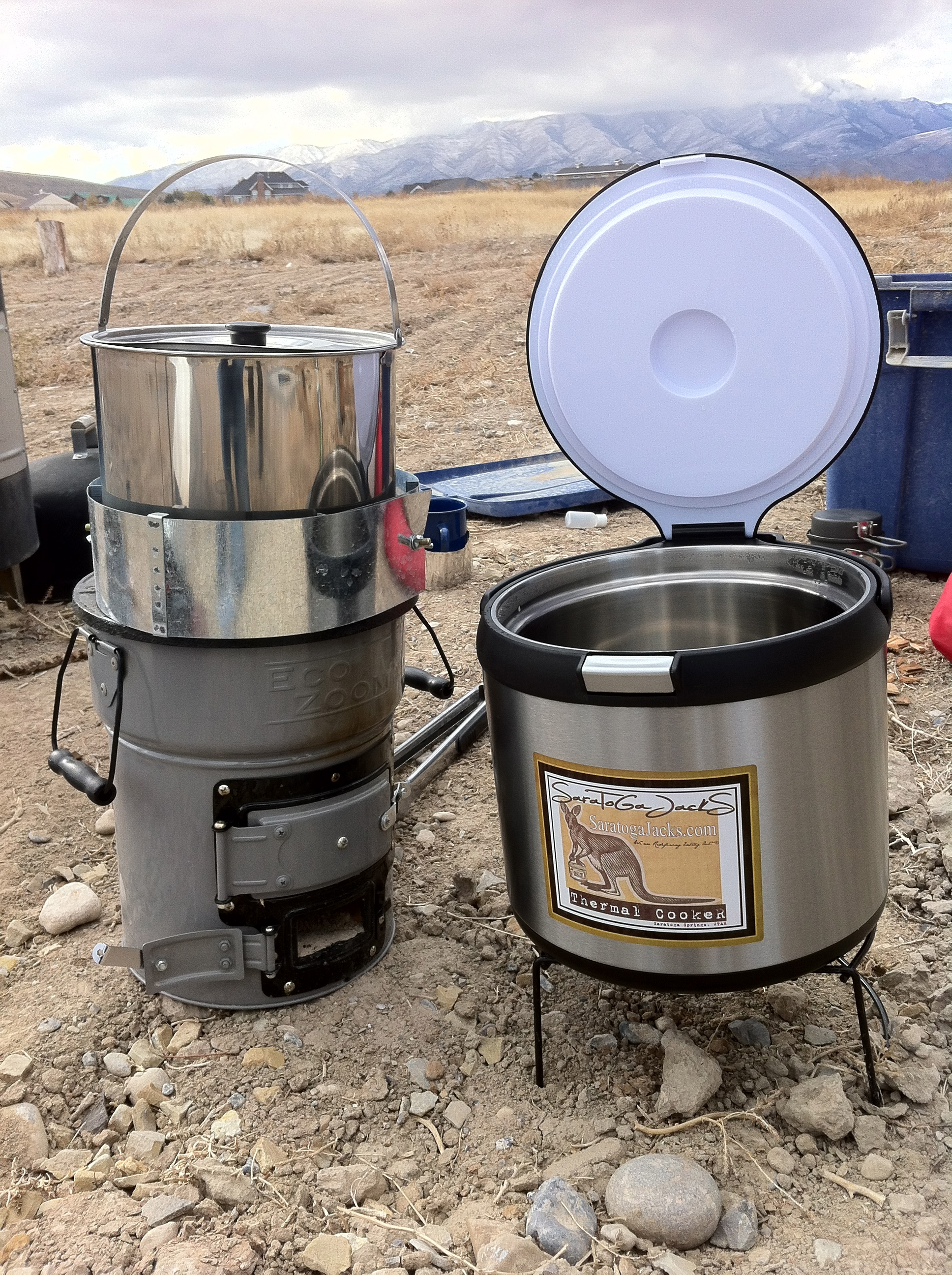 Wok Like A Prepper With A Volcano or a Rocket - Utah Preppers