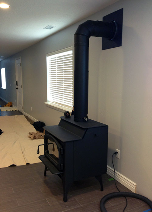 01 - Wood Stove Installation - Utah Preppers