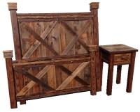 Bradley's Furniture Etc. - Rustic Barndoor Barnwood Collection