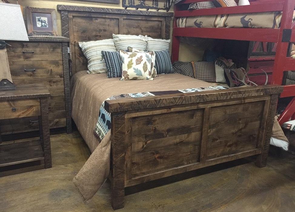 rustic wood bedroom furniture Bradley's Furniture Etc. - Utah Rustic Bedroom Furniture