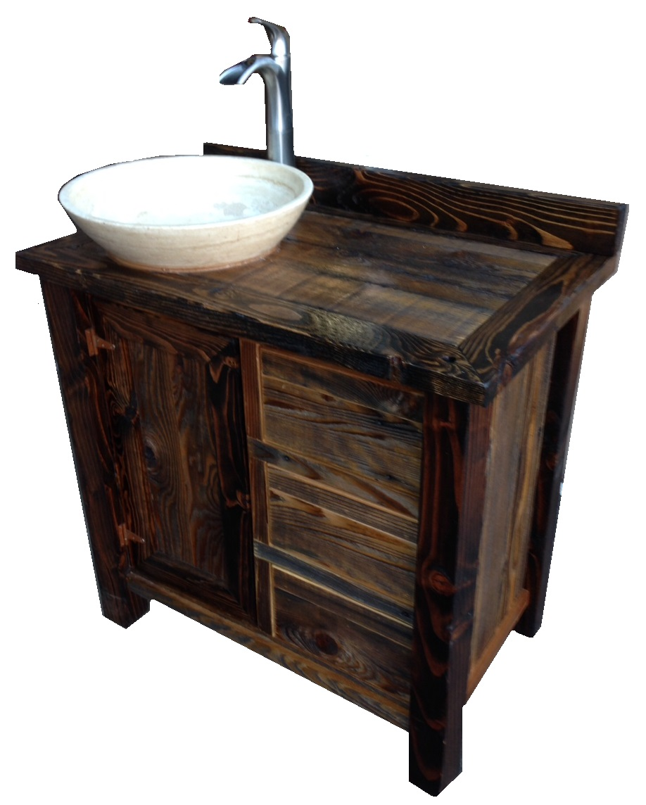 Bradleys Furniture Etc  Rustic Bathroom Vanities