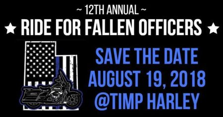 Ride for Fallen Officers - Save the Date