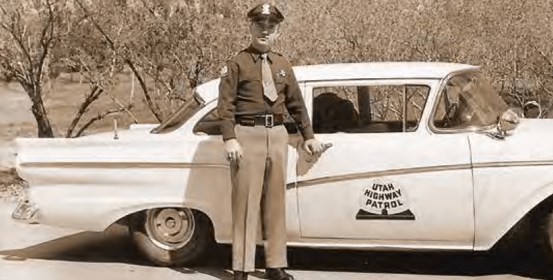 Bob Hayward – The Good Old Days – Utah State Trooper Magazine
