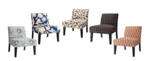 upholstered slipper chair graco harmony high recall avington chairs lots of designs 119 shipped i love these they are the perfect pop color in a room very best deals have found on new is at