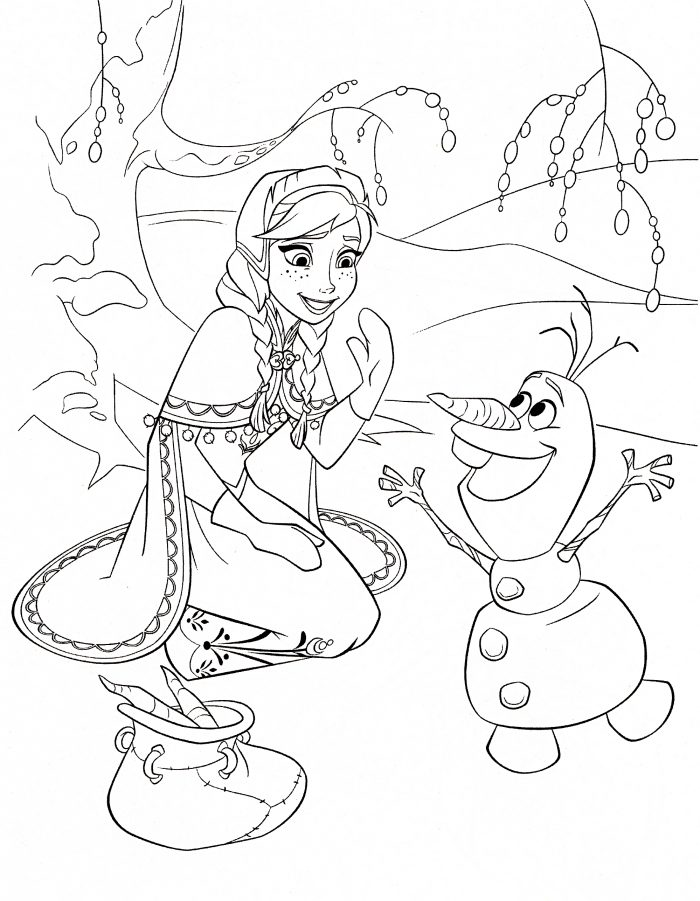 FREE Frozen Printable Coloring & Activity Pages! Plus FREE ... | disney frozen coloring pages free printable