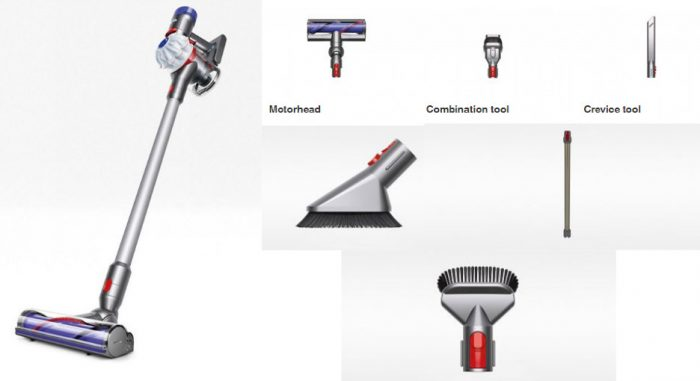 Dyson V7 HEPA Vacuum Cleaner $189.99 + Extra 2 Free Tools