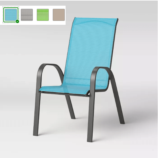 room essentials sling stacking patio