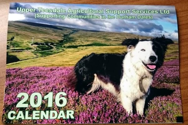 UTASS 2016 Calendar, Priced at £5