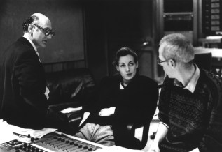 "Recording of ""Song Book"", with Michael Nyman in London, 1991"