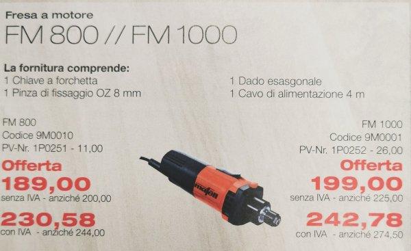 FM800-FM100 utensil legno