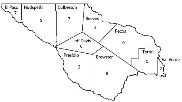 Trans-Pecos Map