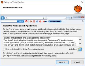 Dotaz na instalaci vyhledávacího proužku ASK