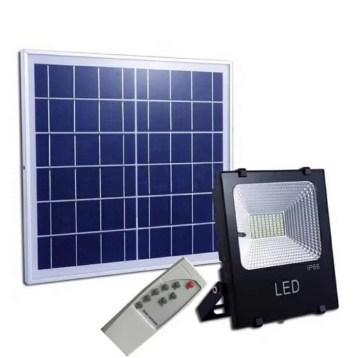 Projecteur Solaire Puissant avec Télécommande
