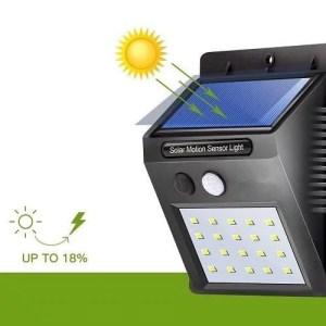 fonctionnement d'un applique solaire