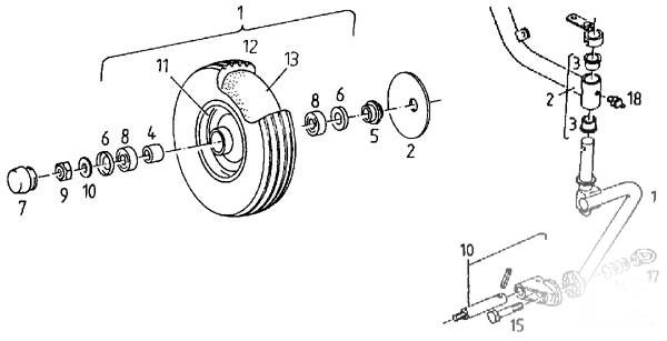 Vand Grebla rotativa Deutz Fahr KS 170 piese schimb