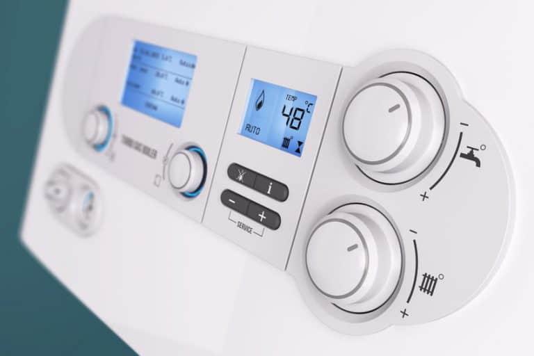 Comandi di un boiler elettrico
