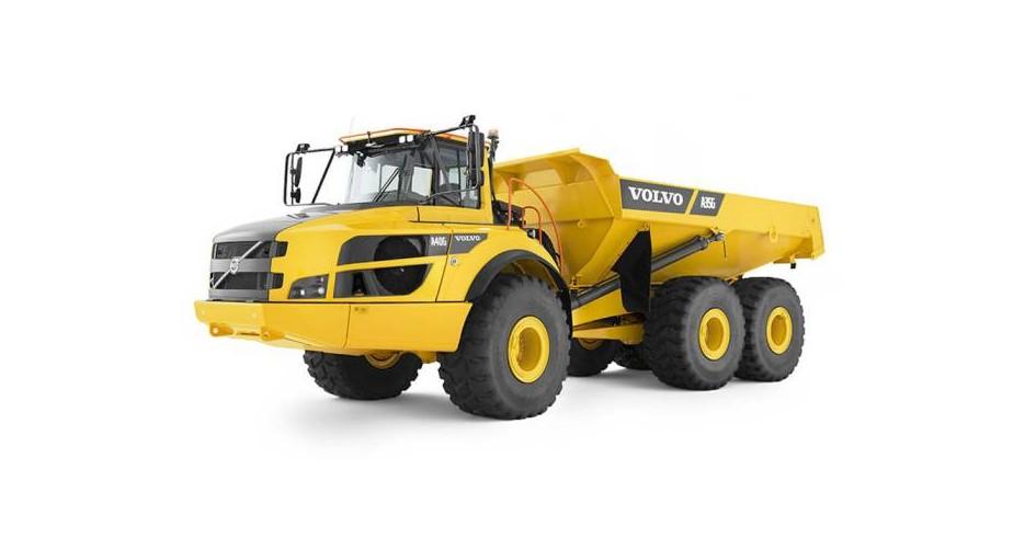 35 tonns Hjuldumper